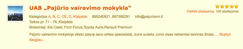 pajurio-vairavimo-mokykla