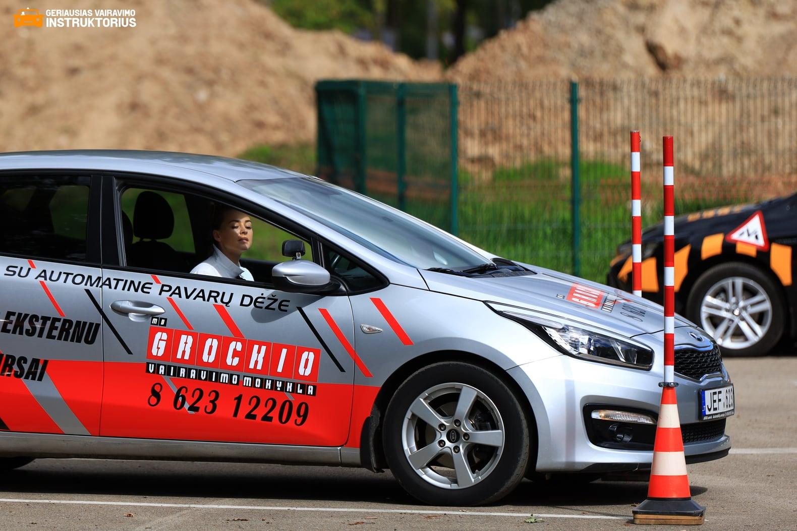 Geroiausio vairavimo instrukltoriaus rinkimai
